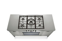gas range cooker 56.90/5G-CF ALPES-INOX