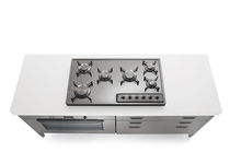 gas range cooker A 588/6G ALPES-INOX