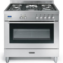 gas range cooker EVOLUTION: GIANT OVEN 90 CM Fratelli Onofri