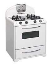 gas range cooker 1955P Elmira Stove Works
