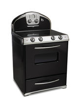 gas range cooker 1954 TEXTURED BLACK Elmira Stove Works
