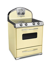 gas range cooker 1954 BUTTERCUP YELLOW Elmira Stove Works