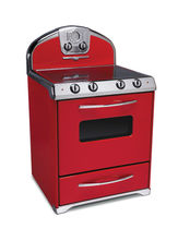 gas range cooker 1954 CANDY RED Elmira Stove Works
