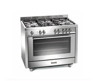 gas range cooker BCG900SS Baumatic