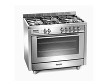 gas range cooker BCD901SS Baumatic