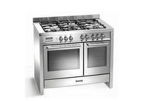 gas range cooker BCD1020SS Baumatic