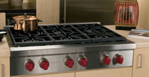 "gas wok range cooker 36""  Wolf Appliance Company"