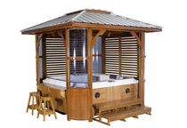 gazebo for hot-tub 809  Guangzhou J&J Sanitary Ware