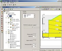 geotechnical calculation software WINBAUGR IDAT