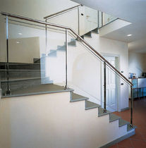 glass and stainless steel railing INTERIOR Marretti