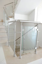 glass and stainless steel railing  Ci. Erre Scale