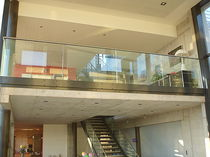 glass and stainless steel railing CLASSICA Miroiterie RIGHETTI