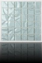 glass and wood mosaic tile 100X50 EVIT