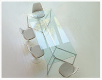 glass boardroom table CARLO MAGNO  MSL Interiors Ltd