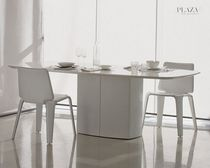 glass boardroom table AERO TAE by Daniele lo S.Moscheri PEDRALI