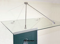 glass canopy for doors and windows SFERA-N by Roberto Volpe FARAONE Srl