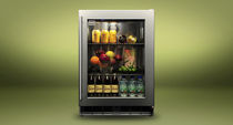 glass door outdoor refrigerator K-HP24RO-3 KALAMAZOO OUTDOOR GOURMET