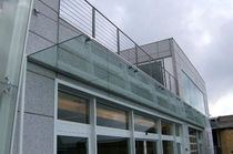 glass entrance canopy  ecospace