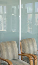glass folding partition KWV-TEC - TRIMMED KWIK-WALL Company