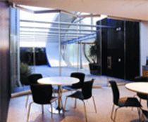 glass folding partition VARIOFOLD KWIK-WALL Company