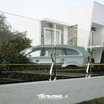 glass garden fence TWIN-R by Roberto Volpe FARAONE Srl