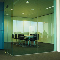 glass mobile partition  PARTHOS