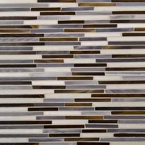 glass mosaic tile JAZZ GLASS : CHICAGO ARTISTIC TILE