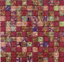 glass mosaic tile FIORINA ROSA COTTO TILES