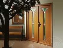 glass pane fitted entrance door LAVA CLASSIC WIPPRO
