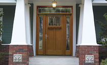 glass pane fitted entrance door in fiber glass AMERICAN STYLE COLLECTION&amp;trade; THERMA-TRU DOORS