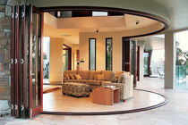 glass pane folding door  CENTOR