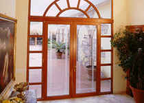 glass pane fitted entrance door DIAMANTE BUONANNO
