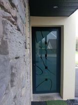 glass pane fitted entrance door COLORA IMAGE Miroiterie RIGHETTI