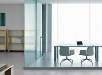 glass partition FARAM P650 Fluidconcepts & Design Inc.