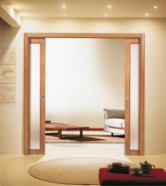 glass pocket double door ALTAIR BASE DOPPIO SCRIGNO