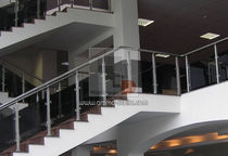 glass railing (with metal handrail) STIF AMM Dizains
