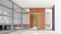glass removable partition WEST1 by Ambostudio archiutti
