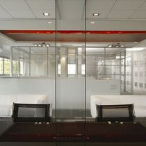 glass removable partition without vertical stud LIGHT  Ge Giussani