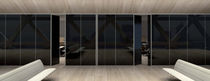 glass removable partition STILO MASCAGNI