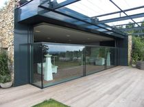 glass removable partition  Kollegger Metallbau GmbH