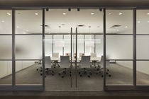 glass removable partition FRONT� Office Specialty