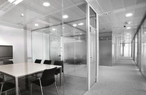 glass removable partition without vertical stud CLASSIC ENVATECH