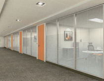 glass small office partition  Archi Caza