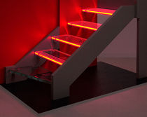 glass step (LEDs integrated) CRISTAL TREPPENMEISTER