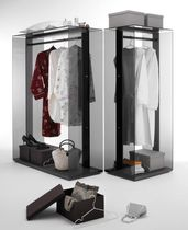 glass walk-in wardrobe GLASSIC by Antonio Mastrorocco Robots