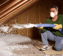 glass wool loose-fill insulation (for blown insulation) ATTIC PROTECTOR® Jhons Manville