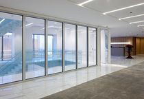 glazed fire door for commercial buildings HEAT BARRIER SERIES TGP Fire Rated