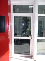 glazed fire door for commercial buildings  BAUMERT