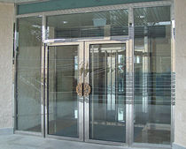 glazed fitted entrance door for commercial buildings MS-600 GRUPSA