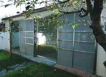 glazed sliding door PRIVATE VILLA ESSEMME